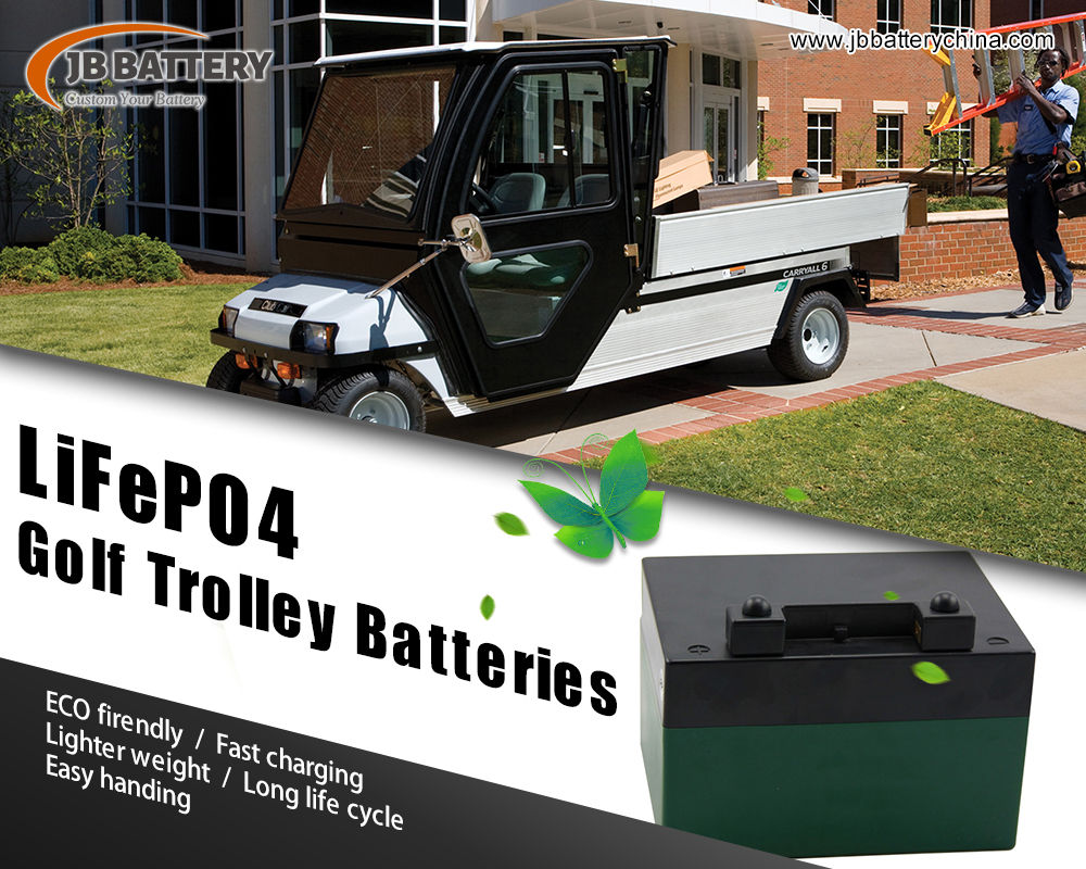 È una batteria del carrello del golf del litio 48V 200Ah è resistente all'acqua?